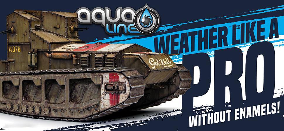 Aqua-weathering