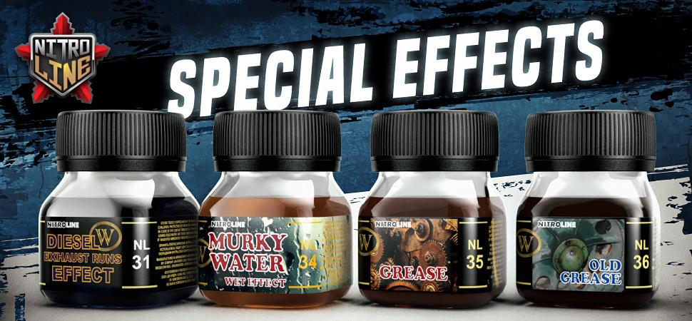 Wilder Special effects paints